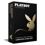 Playboy Lubricated Large 6τμχ