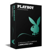Playboy Lubricated 3 in 1 6τμχ