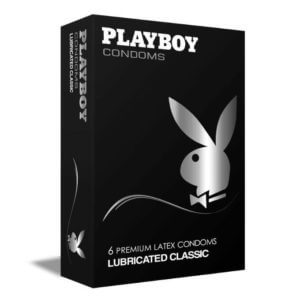 Playboy Lubricated Classic 6τμχ