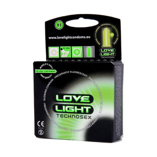 Love Light Technosex Glowing 3τμχ