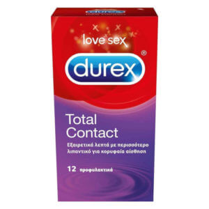 Durex Total Contact 12τμχ