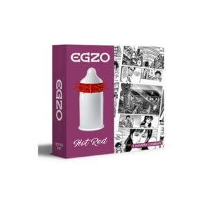 Προφυλακτικό EGZO Hot Red