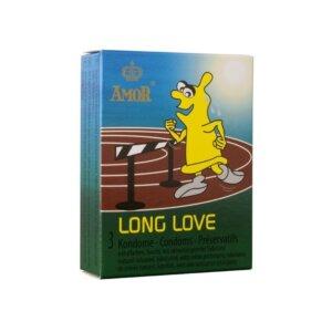 Προφυλακτικά Amor Long Love 3 τεμάχια