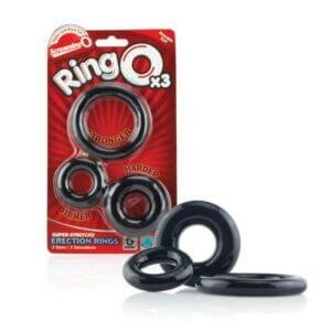 ringO x3 συσκευασία δακτυλίων πέους